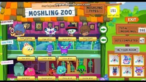 Moshi Monsters - Complete Moshling Zoo