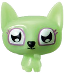 Lady Meowford figure scream green