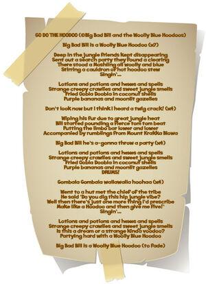 Buck Note Tiki Tropic 2