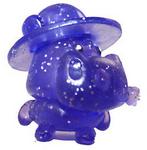 Humphrey figure glitter purple
