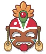 Tribal Mask Uno