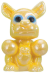 Rooby figure pearl yellow