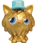 Gingersnap figure gold