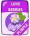 Purple Love Berries