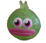 Bloopy figure glitter green