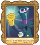 Strangeglove Frame Poster