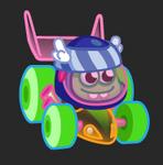 Moshi Karts moshlings neon Shelby
