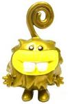 Dr C Fingz figure gold