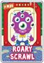 Collector card s7 roary scrawl