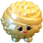 Boomer figure pearl yellow