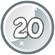 Level 20 icon