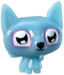 Lady Meowford figure voodoo blue