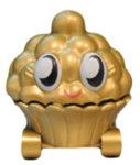Cutie Pie figure gold
