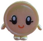 Penny figure pearl yellow