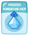 Frozen Forget-me-not