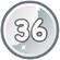 Level 36 icon