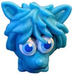 Shrewman figure brilliant blue
