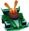 Moshi Karts kart green machine