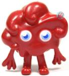 Dipsy figure bauble red