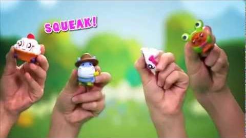 Moshi Monsters Squashi Moshi & SuperSeeds