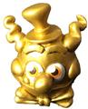 Rocko circus figure gold