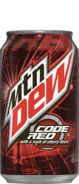 Mtn Dew Code Red Can