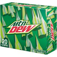 Mountain Dew 20 pack