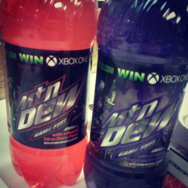 New Mountain Dew Flavors 2013