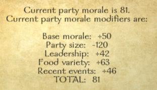 Party morale