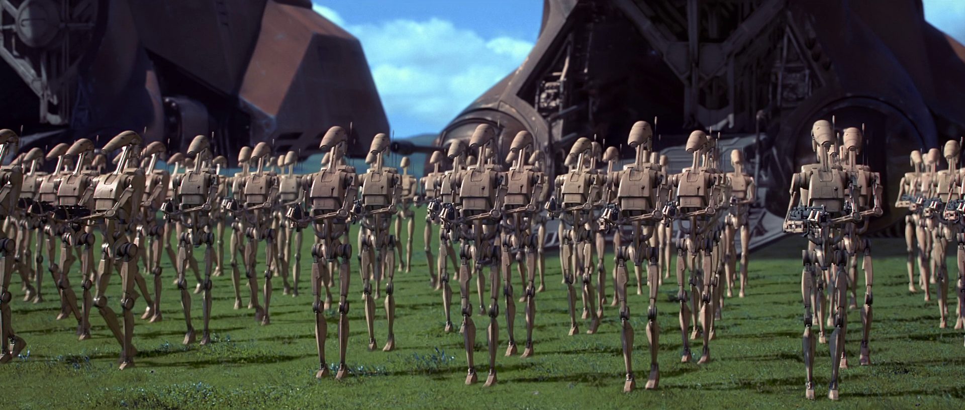 Throwback Star Wars Game: The New Droid Army