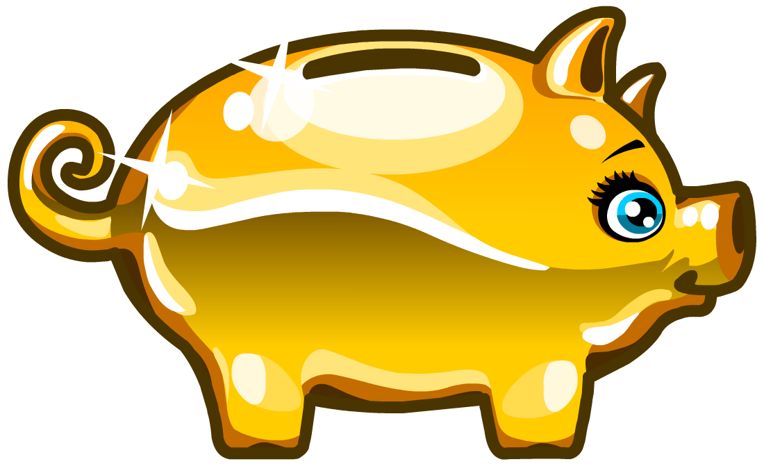 Piggy bank moviestarplanet wiki fandom powered by wikia for How to make a piggy bank you can t open