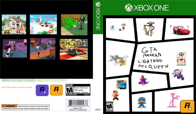Xbox One Game Cover Template