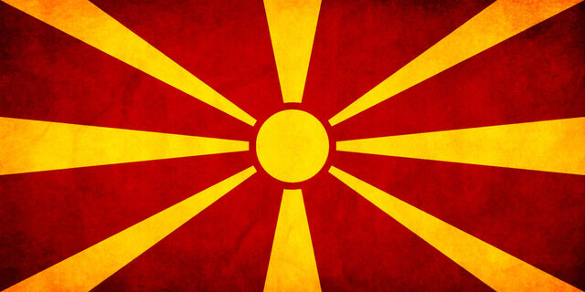 File:Macedonian FYROM Flag Grunge by think0.jpg