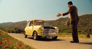 Mini Cooper en Las Vacaciones de Mr. Bean (2007)