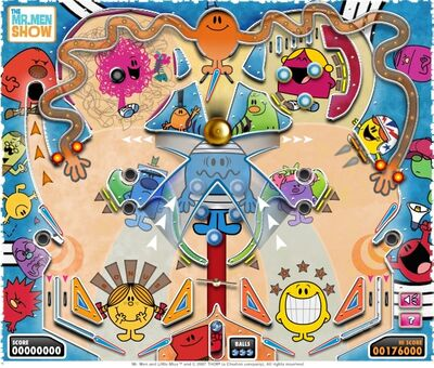 Mr. Men Pinball