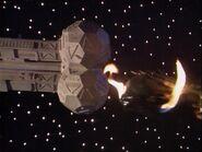 Gamera's ship