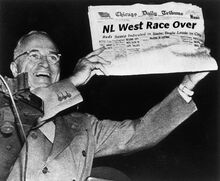 Nl west race