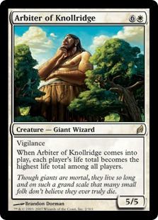 Arbiter of Knollridge LRW