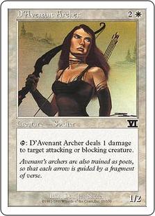 D'Avenant Archer 6