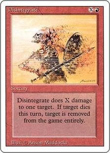Disintegrate 3E