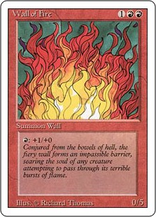 Wall of Fire 3E