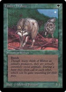 Timber Wolves 2E