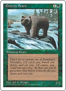 Grizzly Bears 4ED