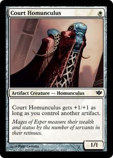 Court Homunculus CON