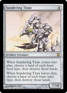 Sundering Titan DST