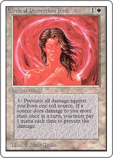 Circle of Protection Red 2U