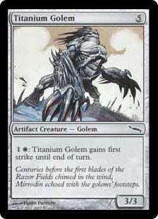 Titanium Golem MRD