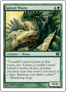 Spined wurm 9ED