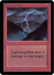 Lightning Bolt 1E