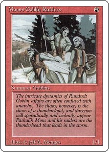 Mons's Goblin Raiders 3E